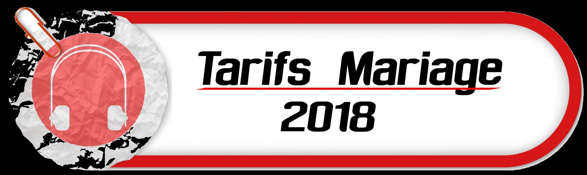 Copie de tarif mariage 2018