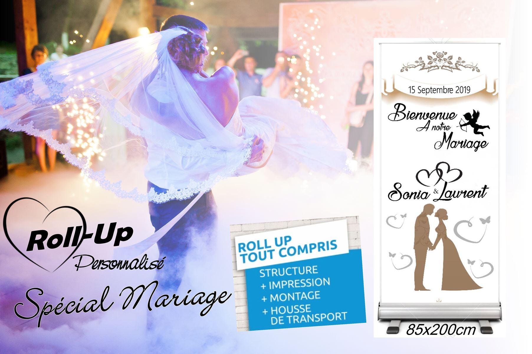 Pub roll up mariage